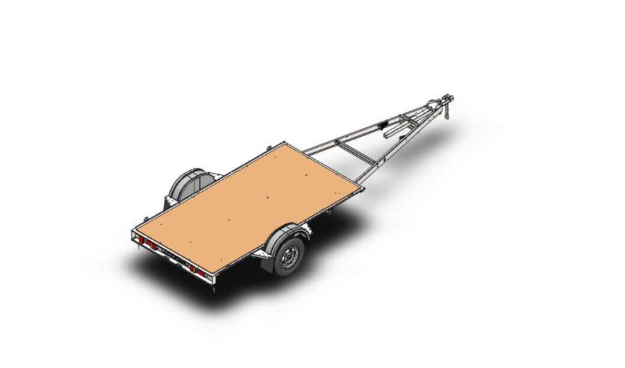ДОН Н5521 легковой автоприцеп для лодки