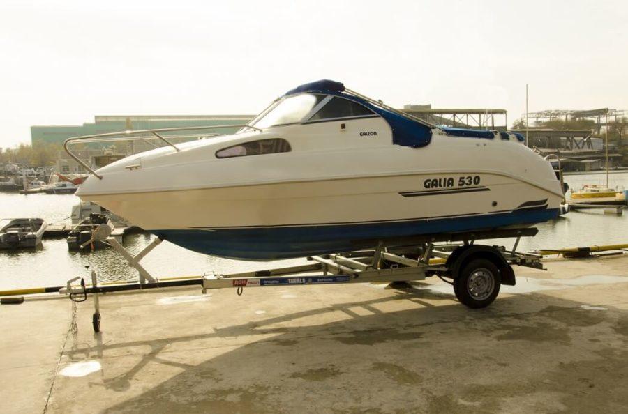 Модульный автоприцеп для лодки ДОН Н4221