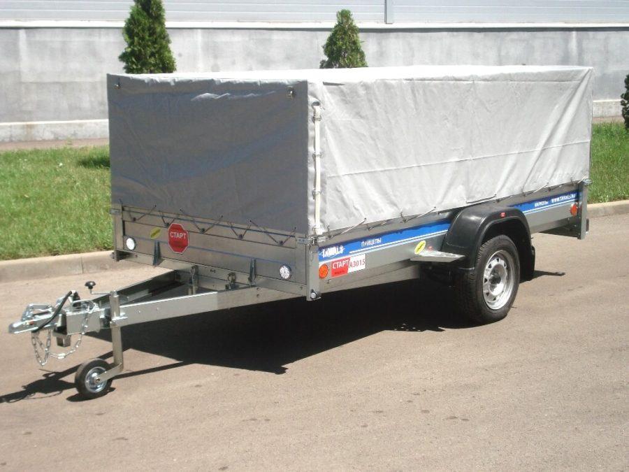 Легковой авто прицеп СТАРТ А3015 с прямоугольным прицепом