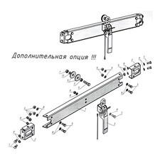 Комплект для дооборудования самосвальной системой А1812