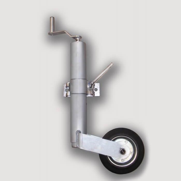 Подкатное колесо для автомобильного прицепа