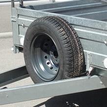 Запасное колесо R13 для авто прицепа