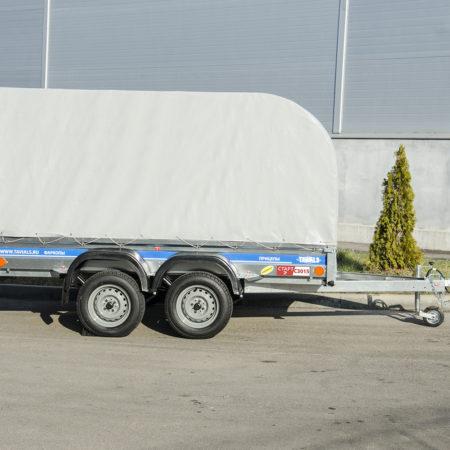 Автомобильный прицеп 2-х осный СТАРТ-2 С3015/14 (усиленный)
